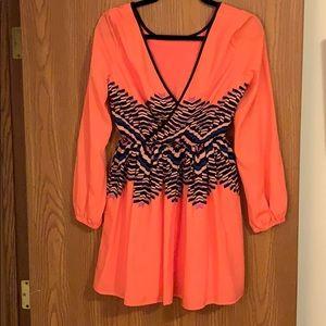 GB long sleeve mini dress - size small